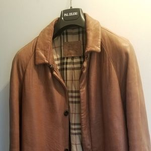 Burberry (limited edition) leather coat
